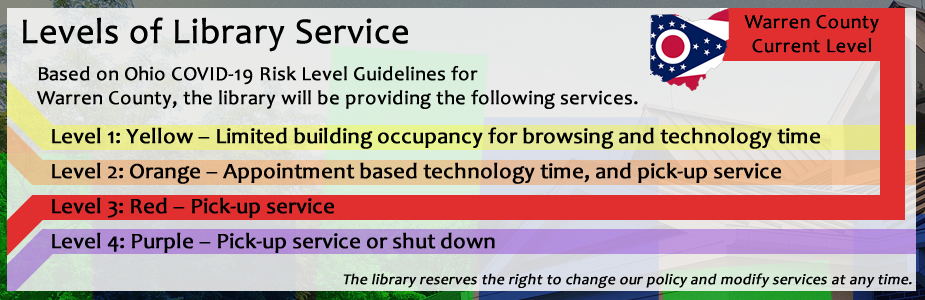 Levels of Library Service - Red